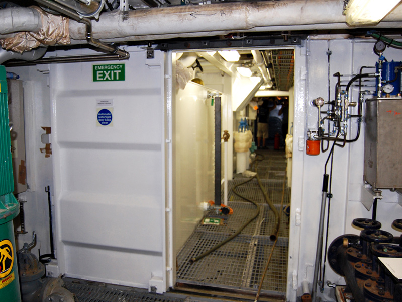 All Sliding Watertight Sliding Door Electro-Hydraulic Power Operated are approved and tested by the commissioned Classification Register according to ... & NAVINT SRL - Watertight Doors